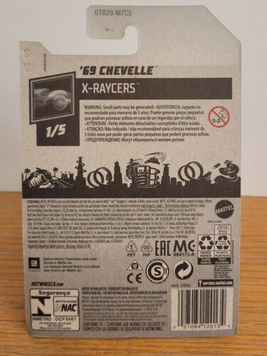 2021 HOT WHEELS /'69 CHEVELLE  #77 New Released NIP X-RAYCERS Series 1//5