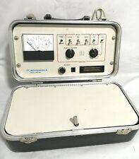 Motorola Radio Test Set R 1033a Box
