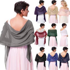 Prom-Shawl-Scarf-Chiffon-Wraps-Shawl-For-Wedding-Bride-Party-Bridesmaid-72-18cm