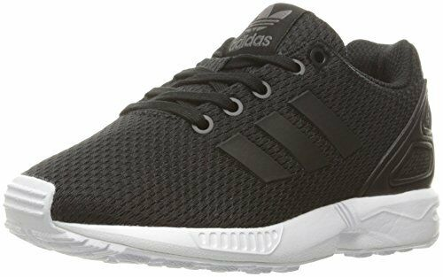 0050bfd4fedf Buy adidas ZX Flux Little Kids S76295 Black White Mesh Athletic Shoes Youth  Size 2.5 online