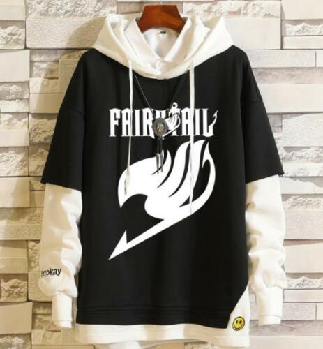 fairy tail Cosplay Anime Kapuzen Kapuzenpulli Pulli Hoodie pullover Coat Cotton