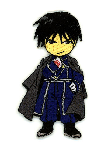 """FULLMETAL ALCHEMIST Roy Patch 3/"""" x 2/"""" Patch Licensed by GE Animation 7141"""