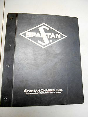 Spartan Chassis Fire Truck Operation Maintenance Manual EBay