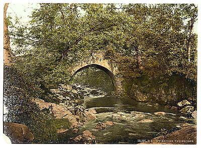 Ivybridge The Bridge Plymouth A4 Photo Print Art
