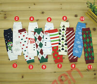 Baby Toddler Boys Girls long  Tights Legs Leg Warmers Socks 11 Designs U