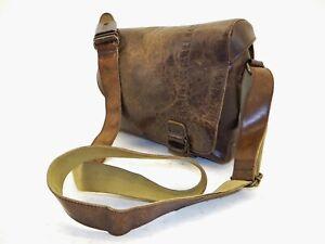 wähle authentisch Größe 7 limitierte Anzahl Details zu aunts & uncles Unisex Used Look Tasche Handtasche Umhängetasche  LEDER Braun