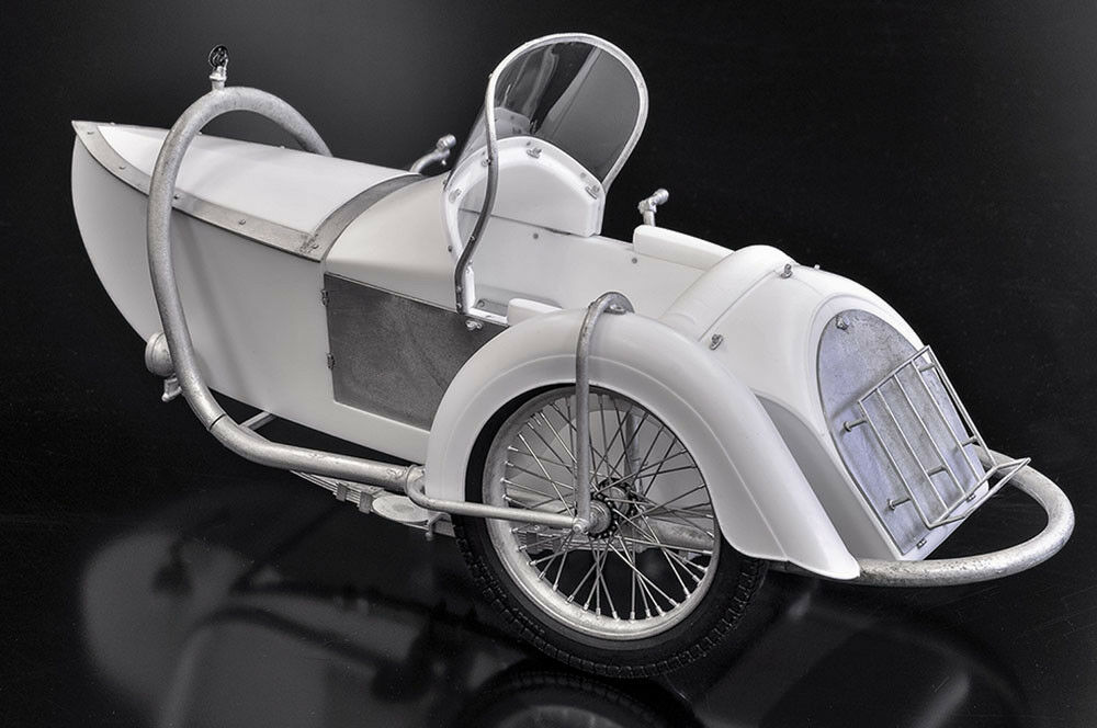 Model Factory Hiro K663 1 9 Brough Superior Superior Superior AGS Sidecar Fulldetail Kit 8a4168