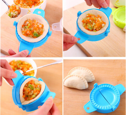 Kitchen Dumpling Tools Dumpling Jiaozi Maker Device Cute DIY Dumpling Mold Kit
