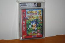 Sonic the Hedgehog 3 (Sega Genesis) NEW SEALED MINT HARDCASE, GOLD VGA 85+ RARE!
