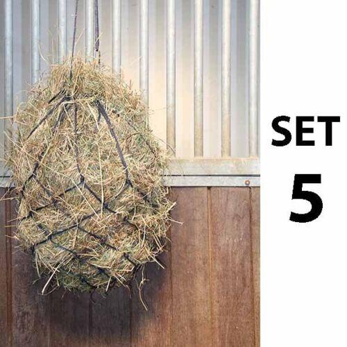 Heunetz Rom Set 5 Stück 3,40,-//St ideal für Stall  Pferdehänger soko/_reitsport