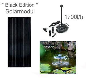100 Watt Solaire Étang de Jardin Plongée Ruisseau Coulant Fontaine ...