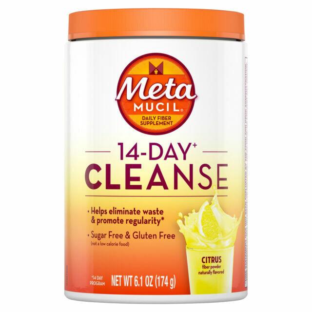 Metamucil 14-day Cleanse Psyllium Fiber