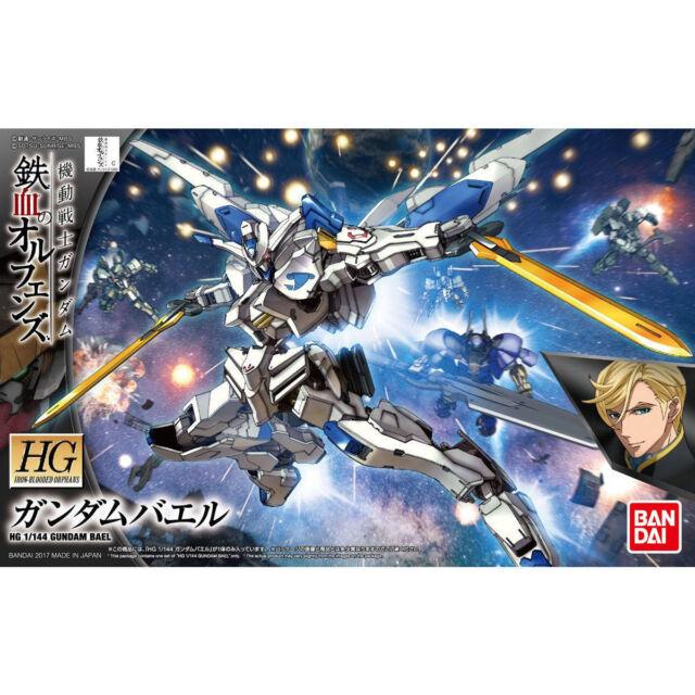 Bandai Hg 036 1/144 Kit Modelo Gundam Bael Hierro-sangre huérfanos de seguimiento