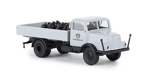 Brekina-71534-Ifa-S-4000-1-Flatbed-VEB-Coal-Supplier-Erfurt-Model-1-87-H0