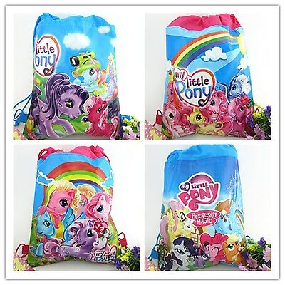 Kids' Clothing, Shoes & Accs Bright New My Little Pony Kids Girls Lady Drawstring Pe Gym Toy Beach Party Bag Charm