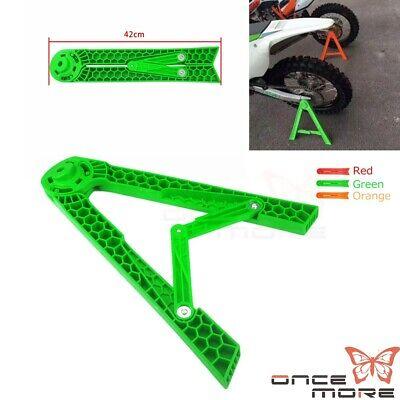 Schwarz B Baosity Universal Triangle Motorcycle Stand Kickstand Fahrradzubeh/ör
