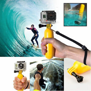 Floating Grip Handle Mount Float Buoyancy Stick for Camera Gopro Hero 1 2 3 3+4