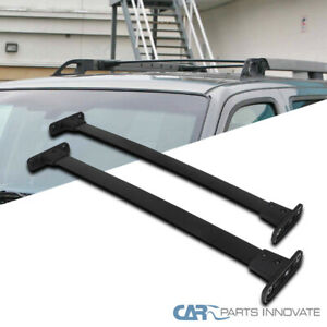 For 05 12 Nissan Pathfinder Roof Top Cross Bars Crossbars Rack Luggage Carrier Ebay