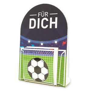 Itenga Geldgeschenk Verpackung Fussball Stadion Eintrittskarte