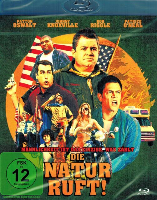 BLU-RAY NEU/OVP - Die Natur ruft - Patton Oswalt & Johnny Knoxville