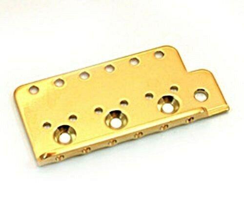 GOLD NEW Bridge Plate For Vintage Style Strat Tremolo