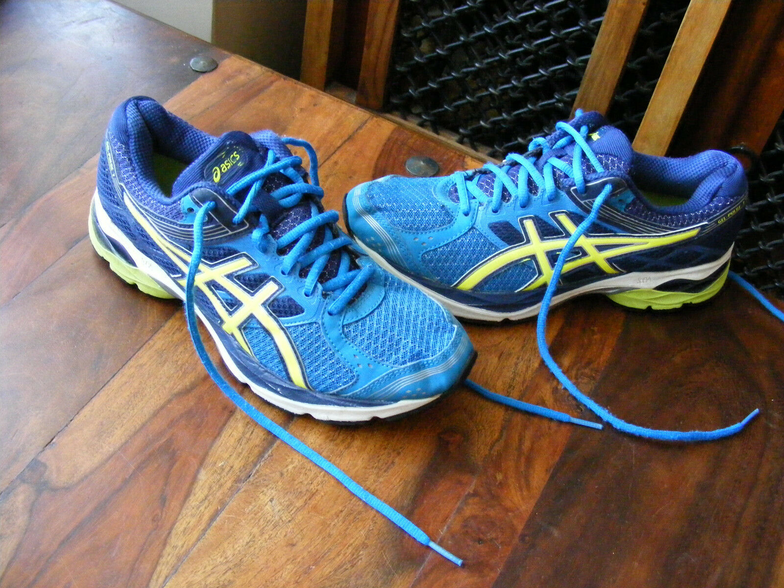 Men's Ladies Asics Gel Pulse-7 T5F1N Running shoes Trainers UK 6 EU 40 US 7
