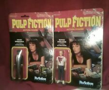 FUNKO REACTION PULP FICTION FIGURES Butch & Bloody Jules SDCC EXCLUSIVE