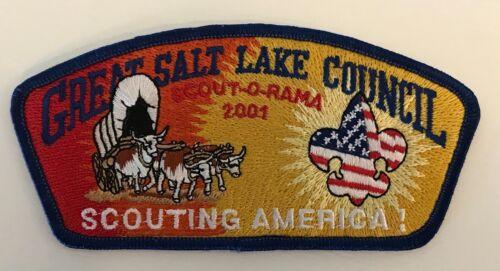 """SA-96 - /""""Scouting America!/"""" Great Salt Lake Council 2001 Scout O Rama CSP"""