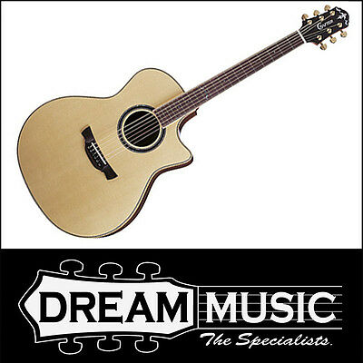 Acoustic Electric Guitars Musical Instruments & Gear Crafter Glxe3000skwc Solid Engelman Spruce L.r Baggs Electro-acoustic Rrp$1999