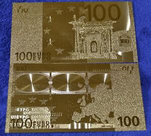 100-Euro-Banknote-Geldschein-in-Gold-Originalgroesse-Goldfolie-mit-Zertifikat