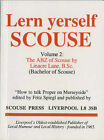 A. B. Z. of Scouse by Linacre Lane (Paperback, 1966)