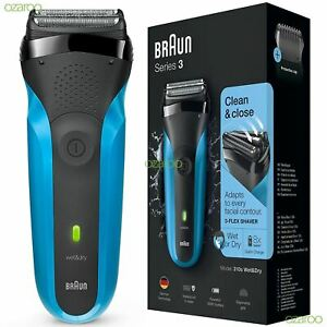 Braun-Series-3-310s-Mens-Rechargeable-Electric-Face-Stubble-Shaver-Razor-Wet-amp-Dry