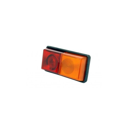 Rubbolite Rectangle Rubber Mounted Rear Trailer Lorry Combination Lamp 64//01//00