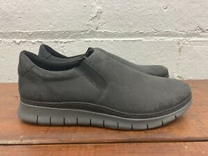 vionic mens khai leather slip on boat shoe size 9 casual