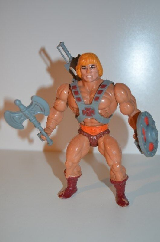 0020 Masters of the Universe He-Man action figure - MOTU Mattel