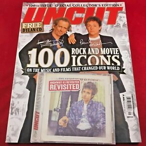 UNCUT-MAG-SEP-05-100-Rock-and-Movie-Icons-and-Bob-Dylans-Highway-61-Revisited