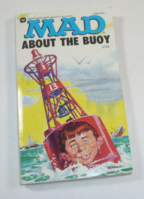 Mad about the Buoy No. 53 by Mad Magazine, Vintage 1991 Reissue Paperback