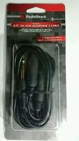 Radioshack 3-ft Stereo Headphone Y-cable 1/4 Male To 2 1/4 Female 4202568