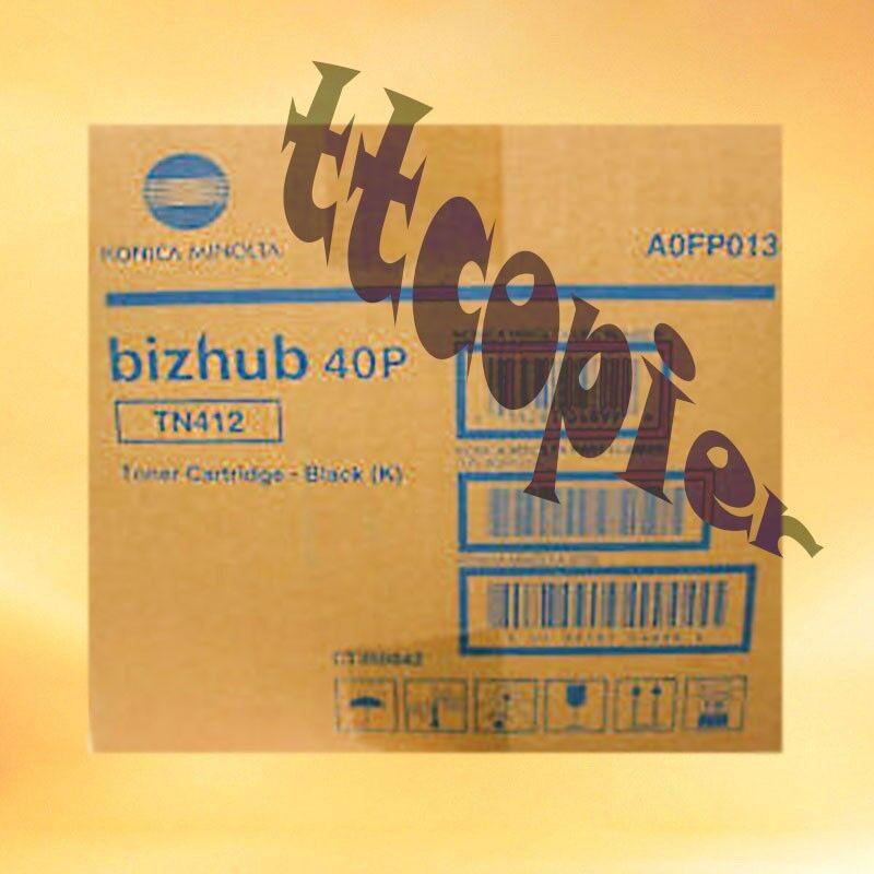 TN412 , A0FP013 Genuine Konica Minolta Bizhub 40P Bizhub 40PX Toner