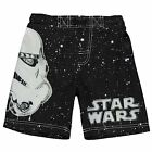 Star Wars Stormtrooper Board Shorts Infant Boys Black/White Swimwear Beachwear