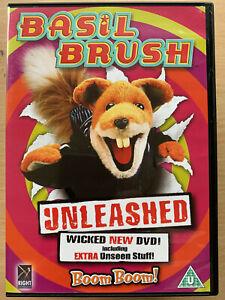 Basil-Brush-Unleashed-DVD-Retro-British-Cult-Kids-Children-TV-Favourite
