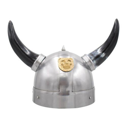 Medieval Warrior Viking Barbarian Helmet Reenactment ReplicaWearable for All