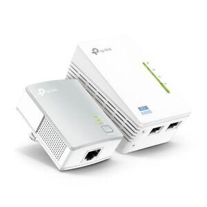 Details about TP-Link TL-WPA4220KIT AV500 300Mbps Wireless Wi-Fi Powerline  Range Extender Kit