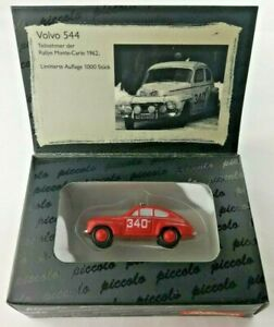 Schuco-05173-VOLVO-544-Rallye-Monte-Carlo-Modell-HO-1-90-OVP-Limitiert-1000-Stk