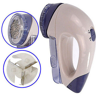 Large Clothes Bobble Fluff Lint Remover Electric Shaver Fuzz off Fabrics Jumper