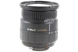 Sigma-Zoom-28-105mm-28-105-mm-1-2-8-4-2-8-4-D-Aspherical-fuer-Nikon