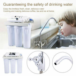 5 Stage Home Drinking Water Filter System Purifier Extra Filters Reverse Osmosis