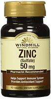 Windmill Zinc 50 Mg Tablets Natural Source 90 Tablets Each