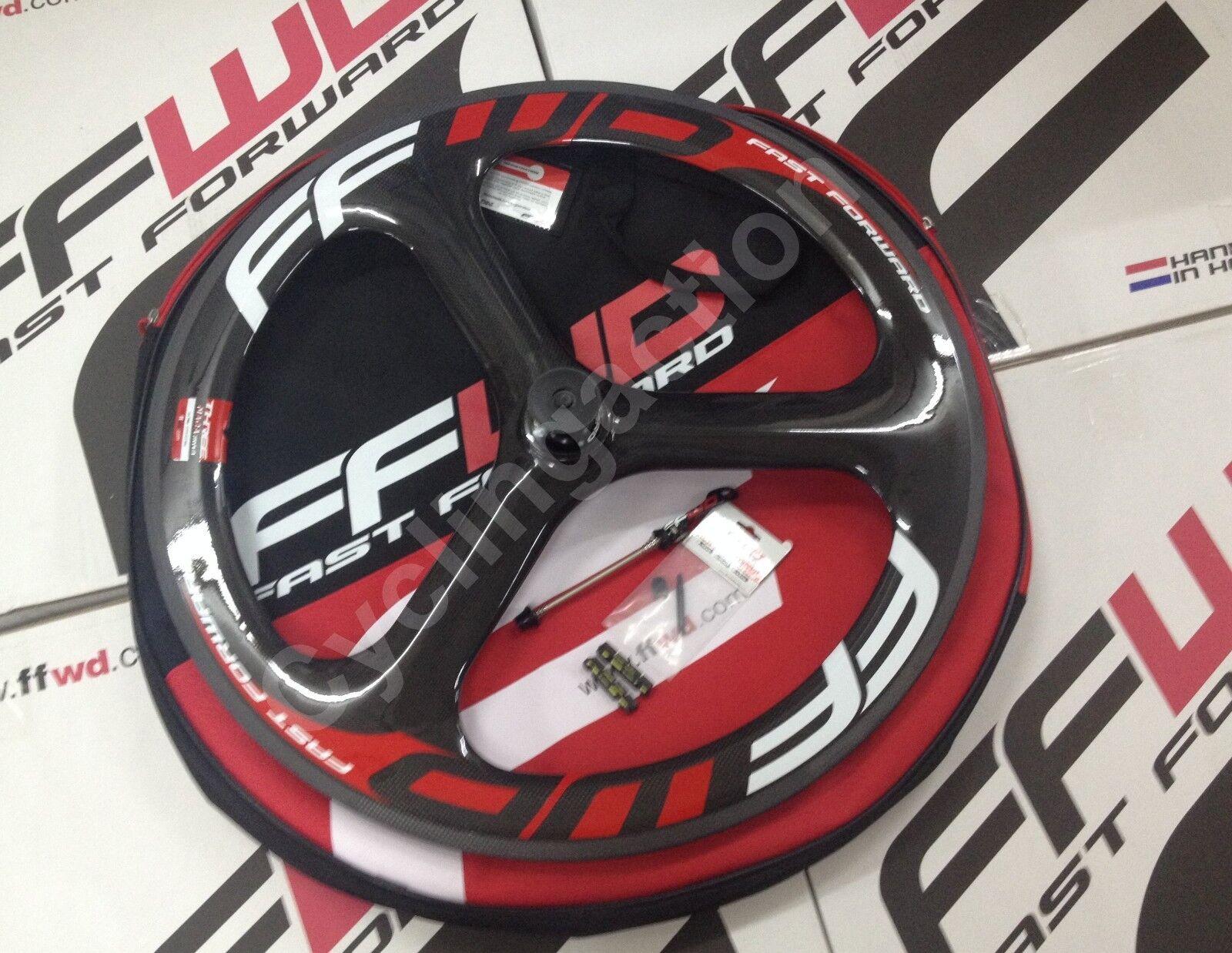 Fast Forward FFWD Three TT TRI 3 Spoke  Tubular Carbon Front Wheel  first-class service