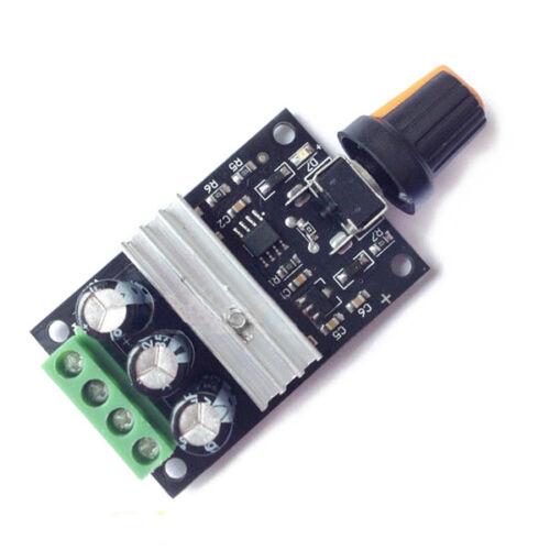 1X PWM DC Motor Velocidad Controlador Módulo Interruptor de control para 6V 12V 24V 28V 3 C2W4